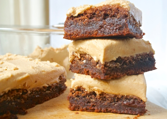 Death by Peanut Butter and Chocolate Brownies   Christina With Caramel