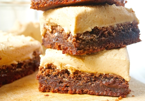 Death by Peanut Butter and Chocolate Brownies |Christina With Caramel
