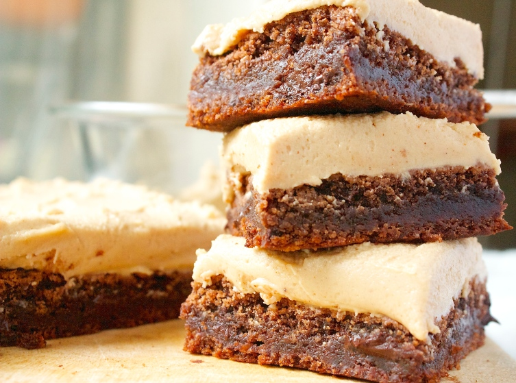 Death by Peanut Butter and Chocolate Brownies | Christina With Caramel