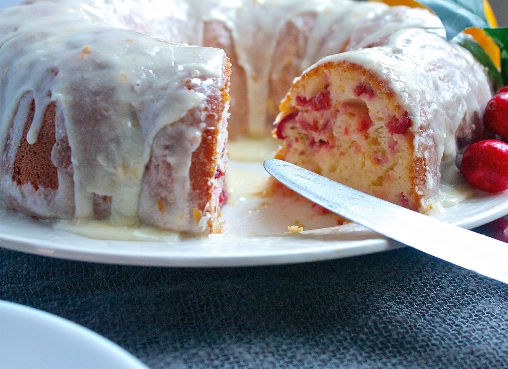 Cranberry-Orange Bundt Cake   Christina with Caramel