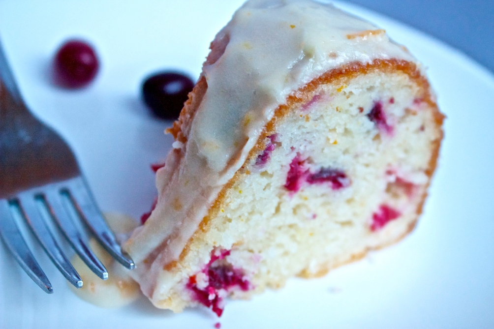 Cranberry-Orange Bundt Cake | Christina with Caramel