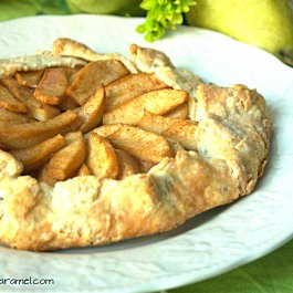 Maple Pear Galette