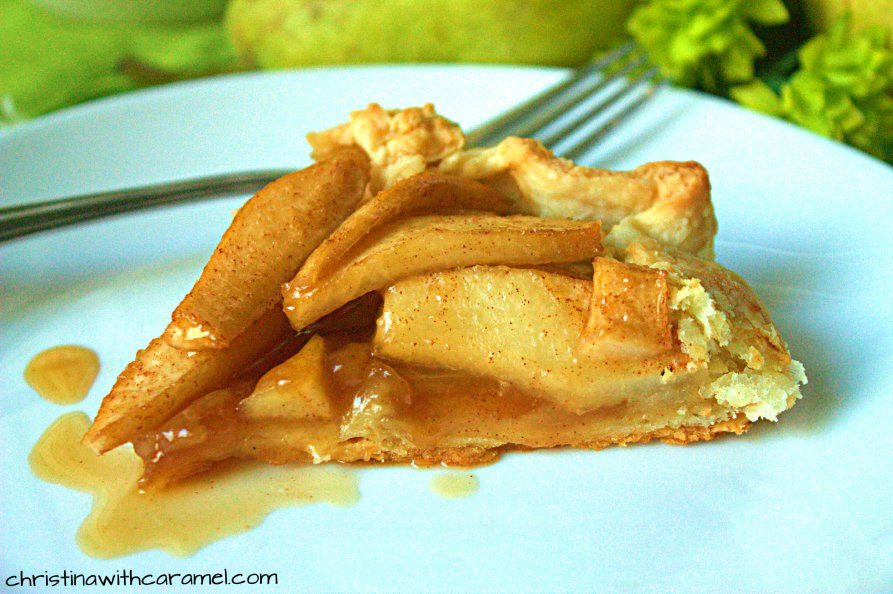 apple pear galette Desserts