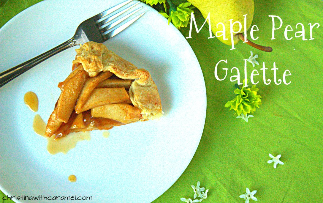 Maple Pear Galette | Christina with Caramel