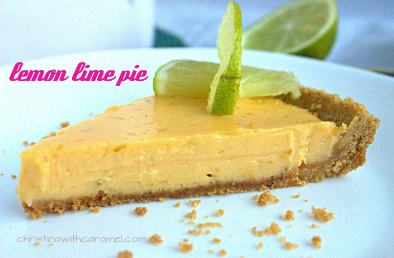 Lemon Lime Pie | Christina with Caramel
