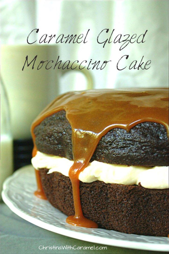 Caramel Mochaccino Cake | Christina With Caramel