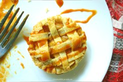 Salted Caramel Mini Apple Pies