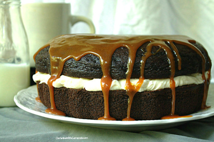 Caramel Mochaccino Cake